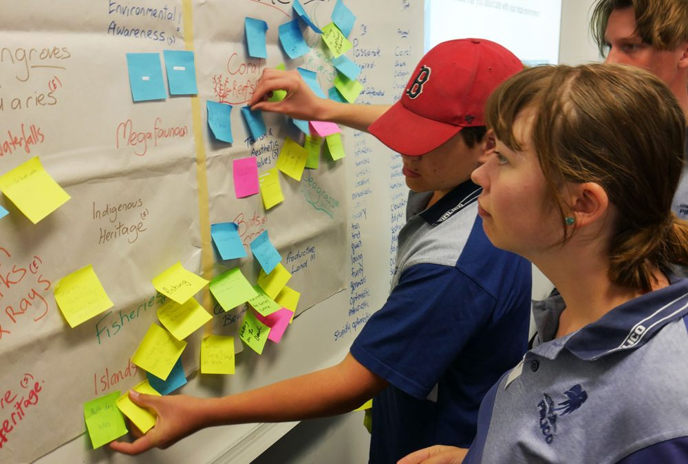 School Students Step up to Help Guide Local Priorities for Community Action